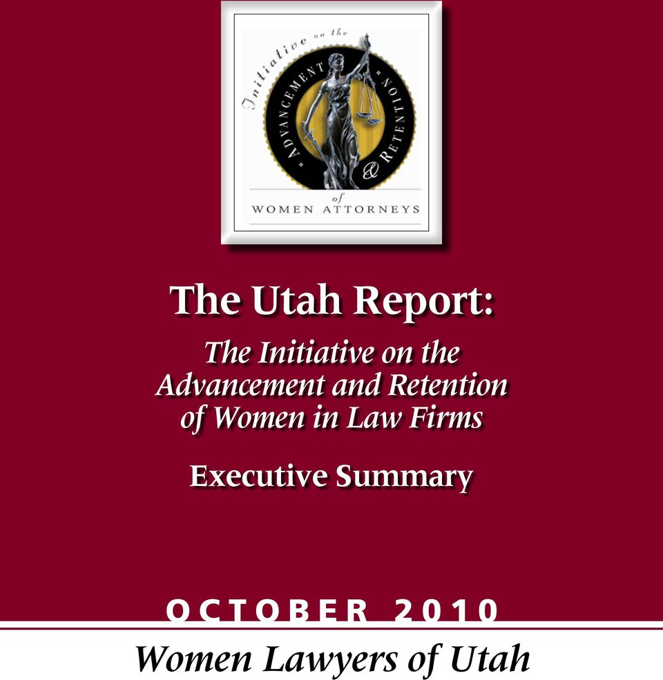 Retention of Women in Law Firms