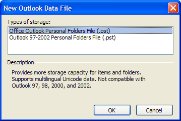 Personal folders and archiving have some traits in common.