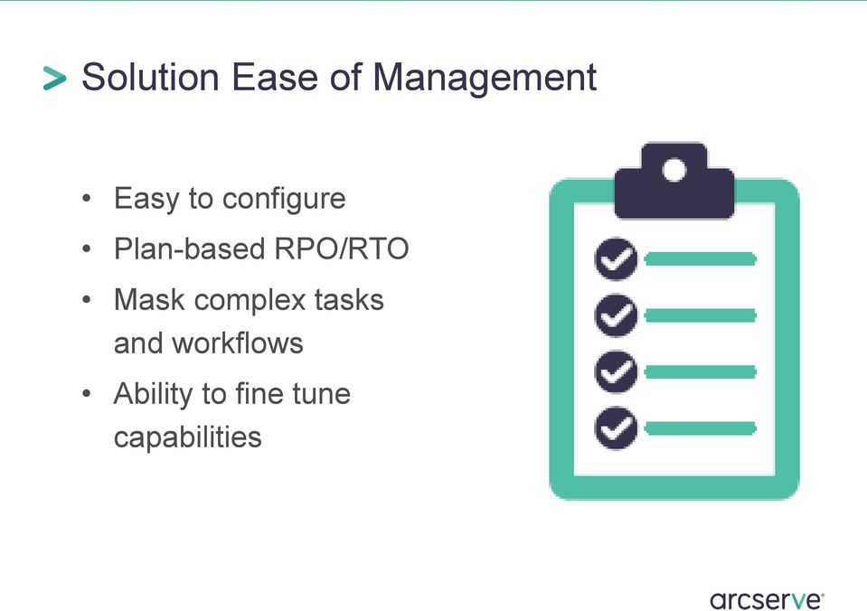Mask complex tasks and workflows