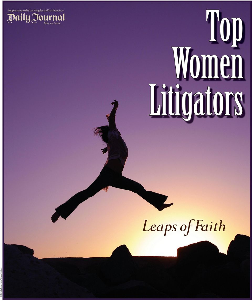 Women Litigators istockphoto.