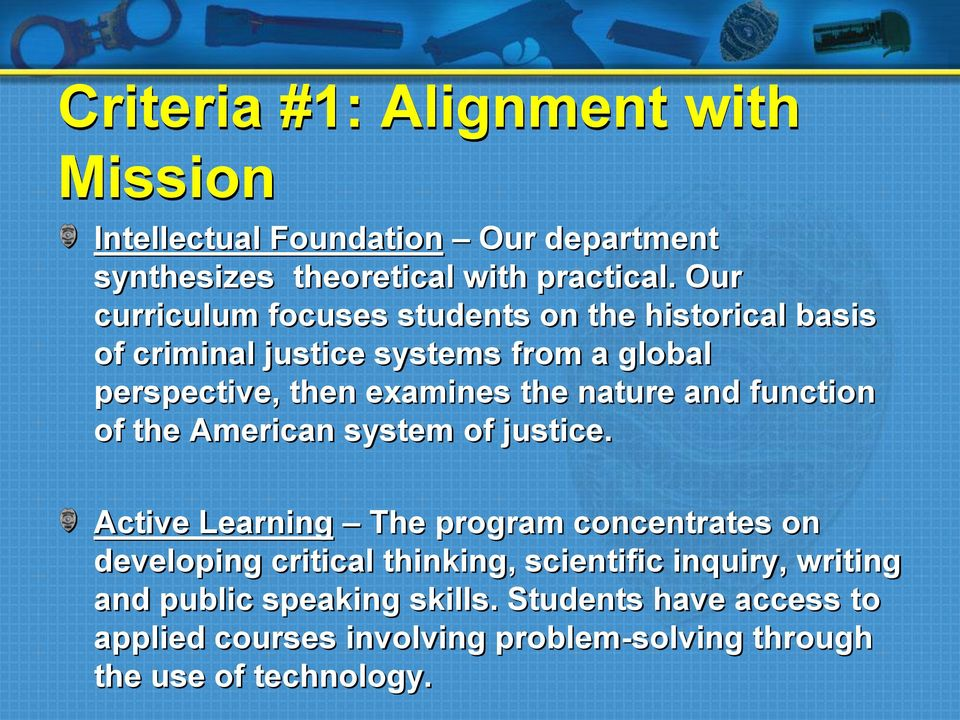 nature and function of the American system of justice.