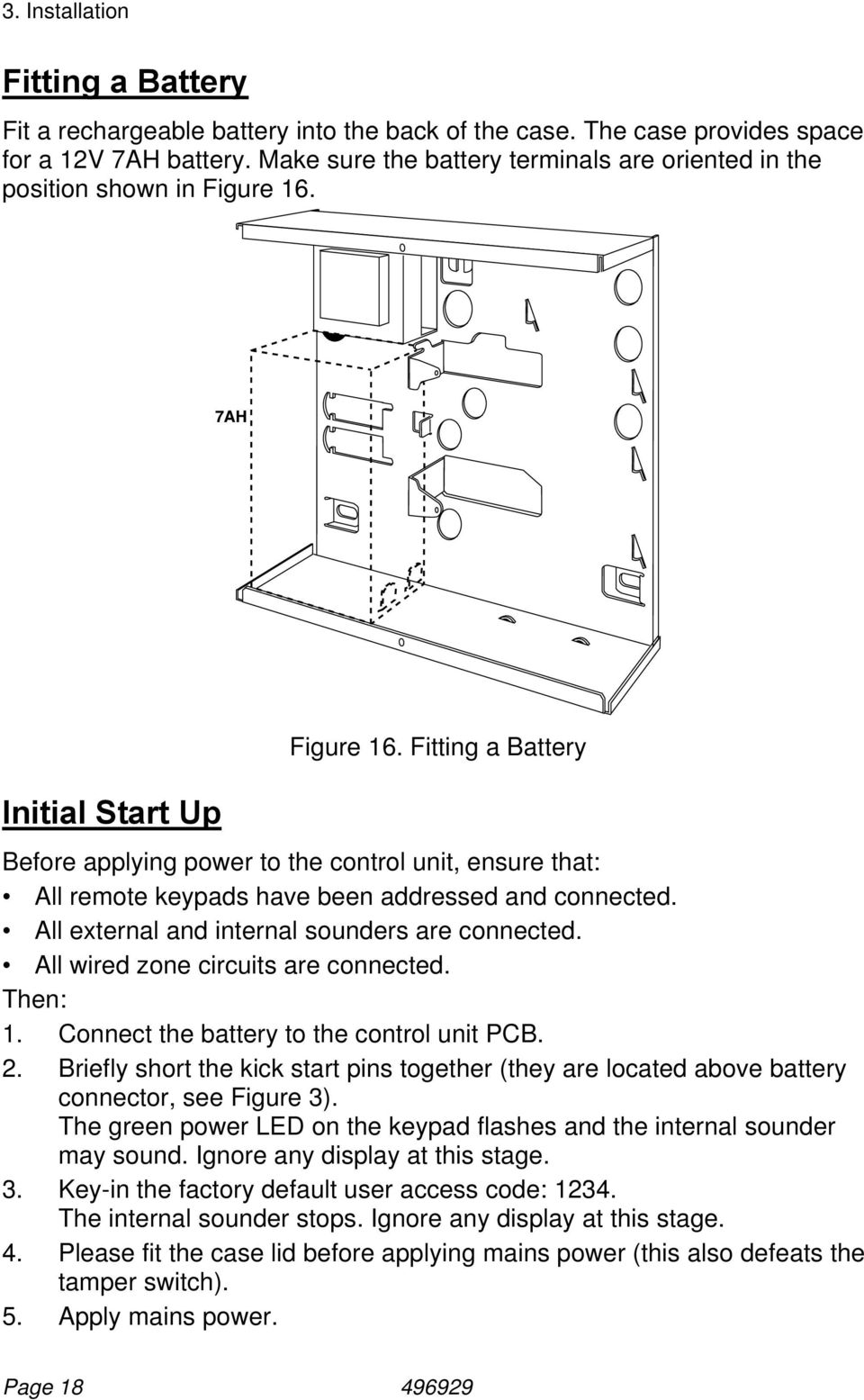 Installation and programming guide hardwired control panel pdf fitting a battery before applying power to the control unit ensure that all remote asfbconference2016 Image collections