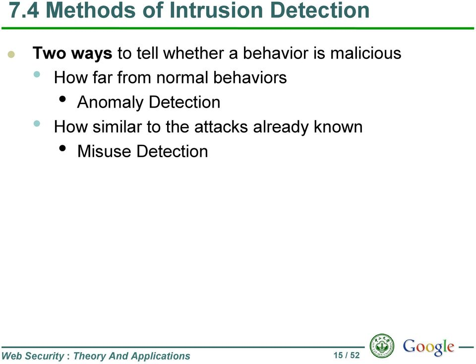 behaviors Anomaly Detection How similar to the attacks