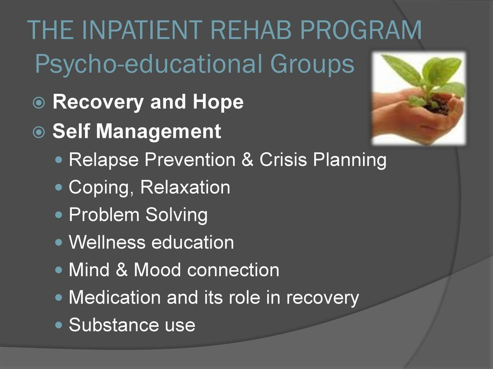 Coping, Relaxation Problem Solving Wellness education Mind &