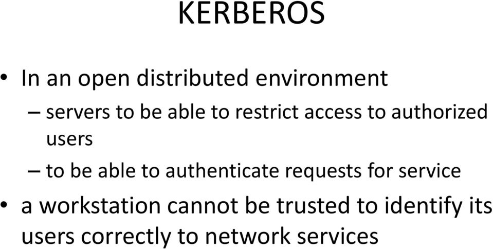 authenticate requests for service a workstation cannot be