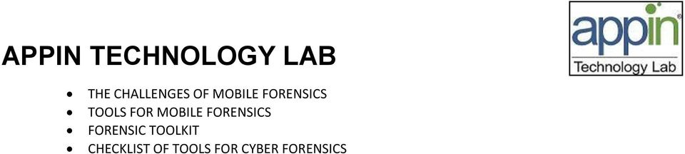 FORENSICS FORENSIC TOOLKIT