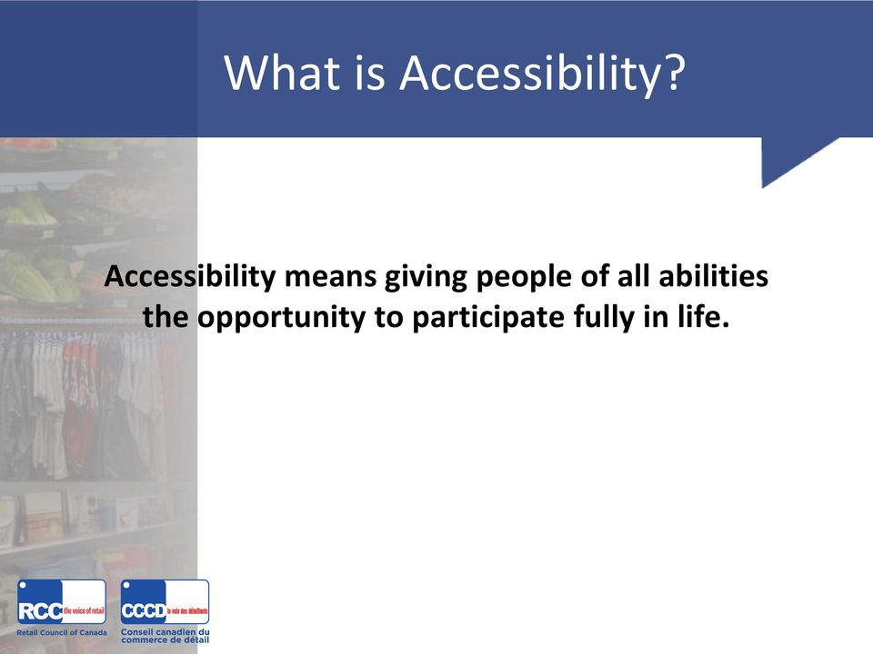 people of all abilities the