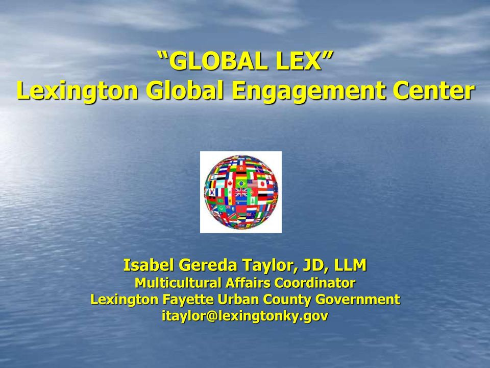 Multicultural Affairs Coordinator Lexington