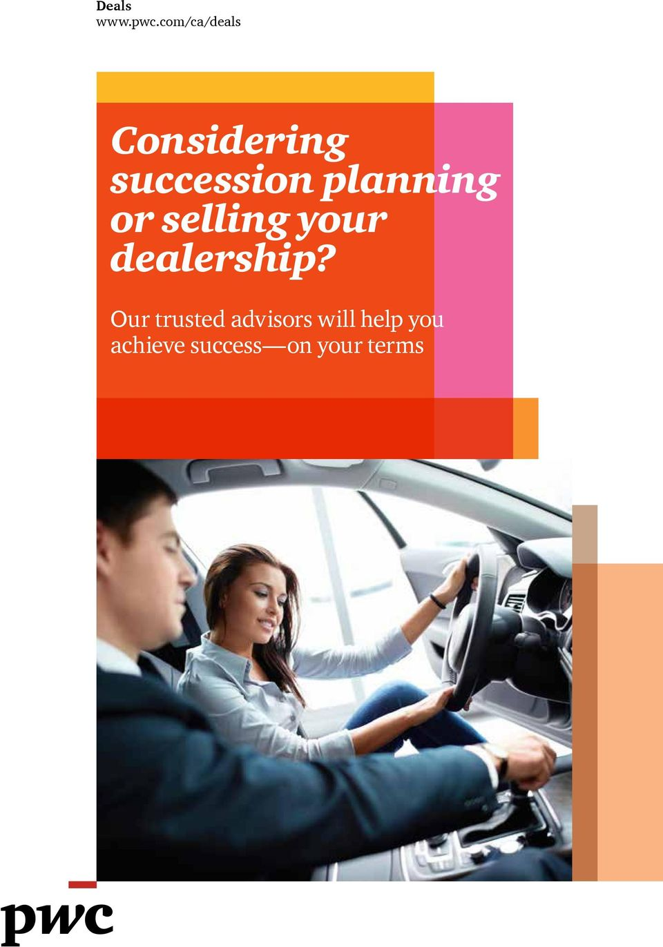 planning or selling your dealership?