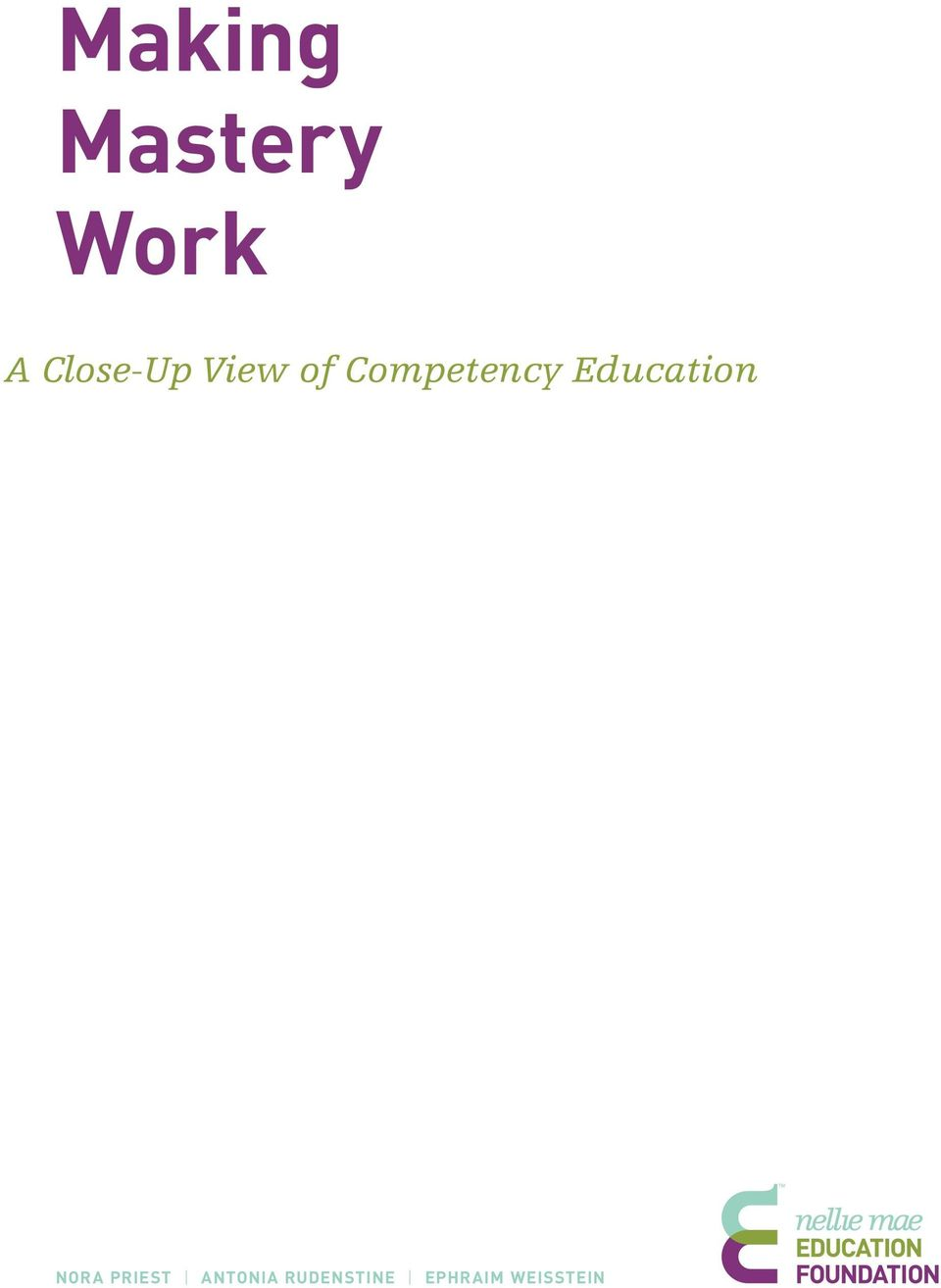 Competency Education Nora