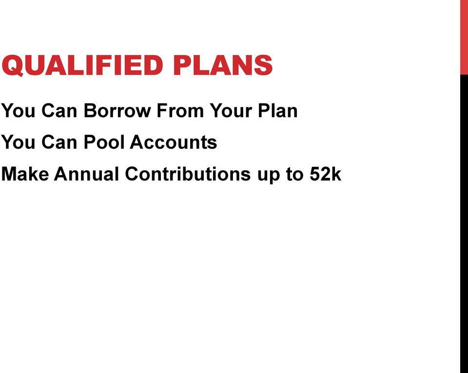 Can Pool Accounts Make