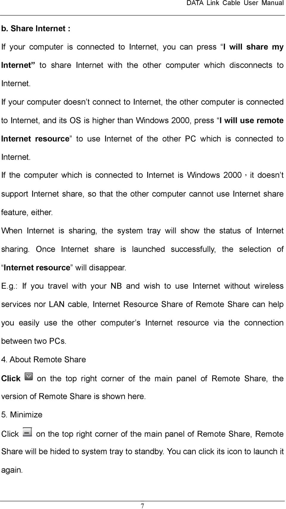 other PC which is connected to Internet.