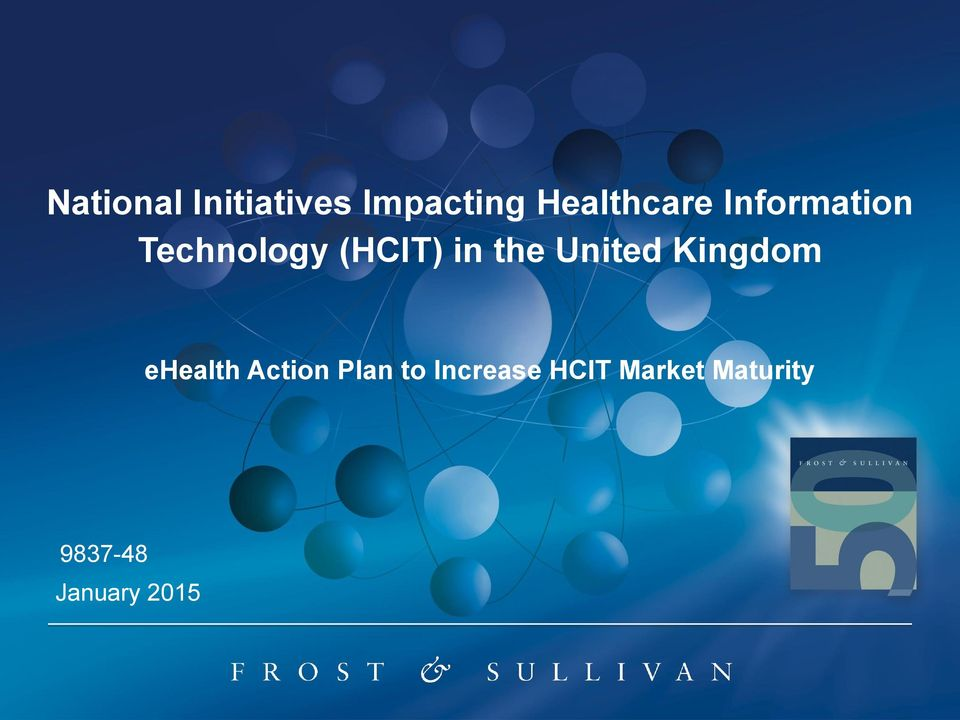 (HCIT) in the United Kingdom ehealth