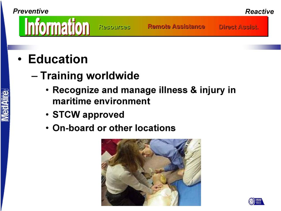 Education Training worldwide Recognize and