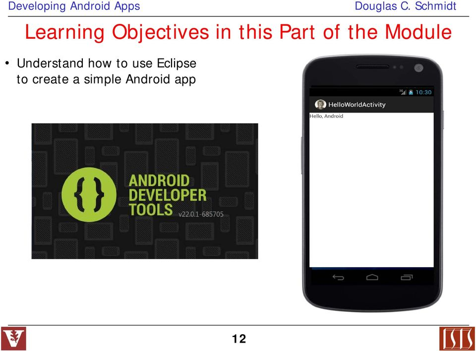 how to develop android app in eclipse