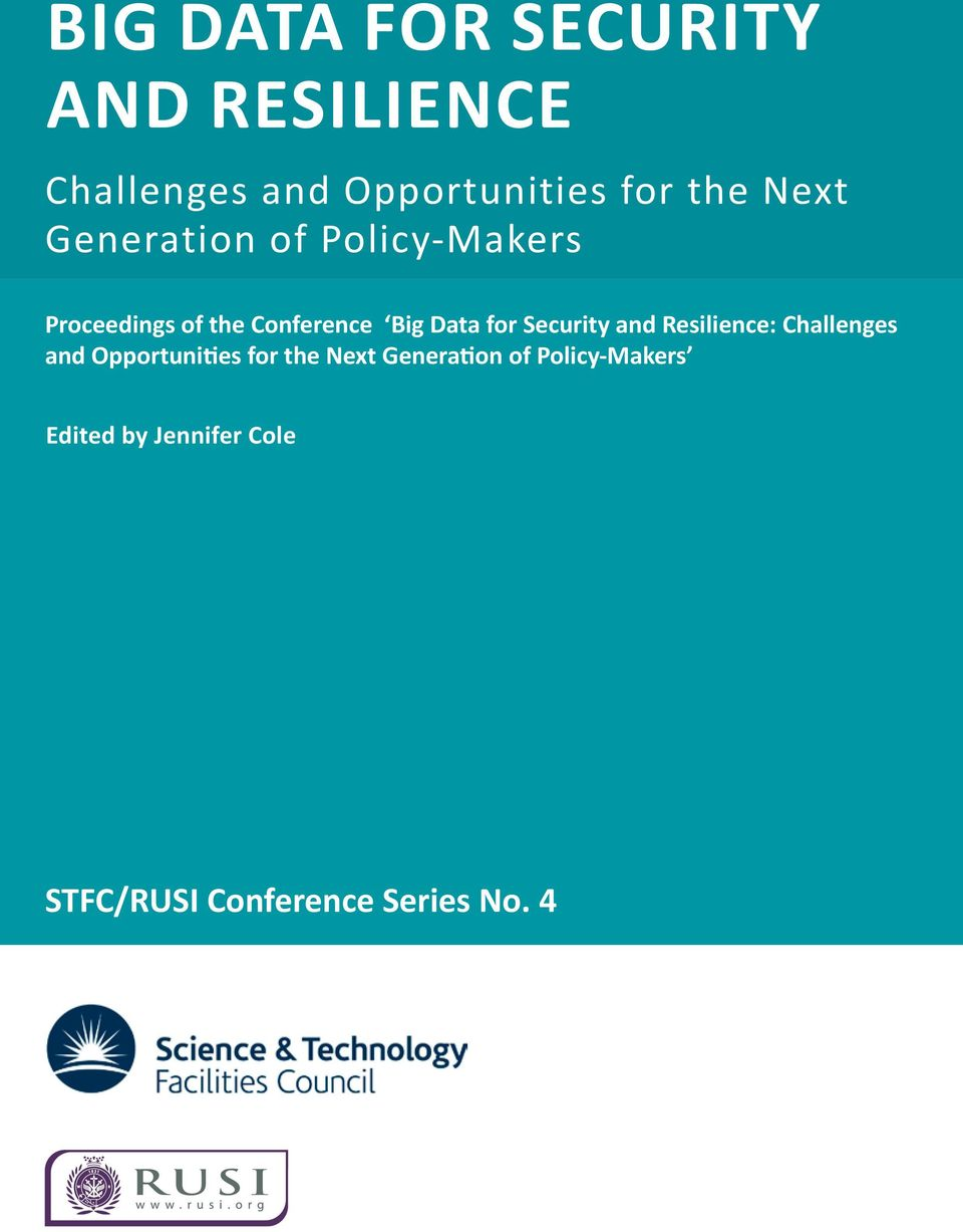 Conference : Challenges and Opportunities for the Next Generation
