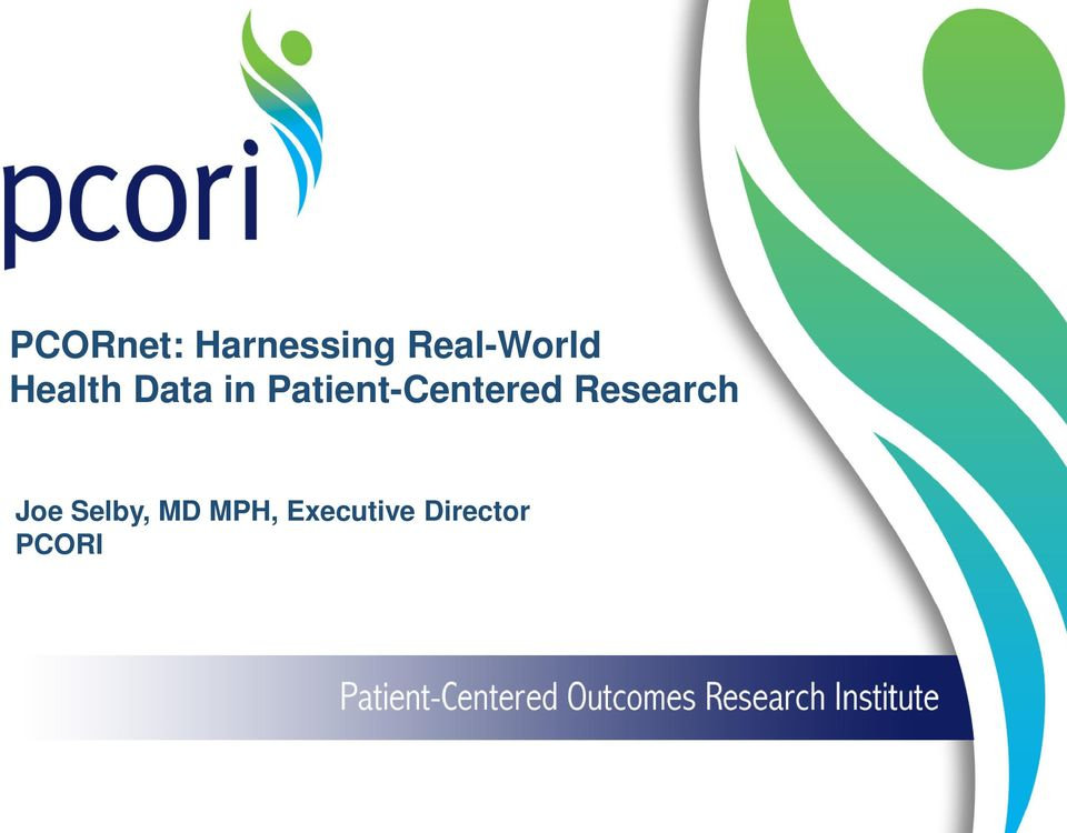 Patient-Centered Research