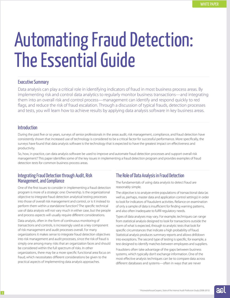 red flags, and reduce the risk of fraud escalation.