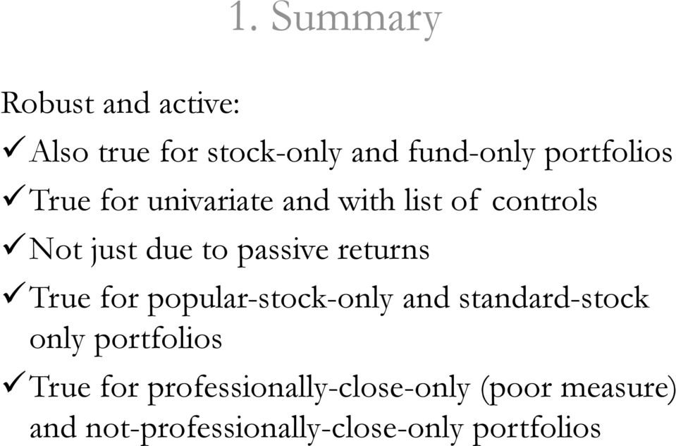passive returns True for popular-stock-only and standard-stock only portfolios