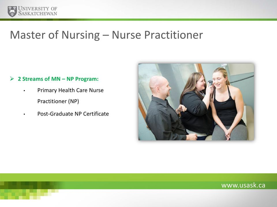 Program: Primary Health Care Nurse