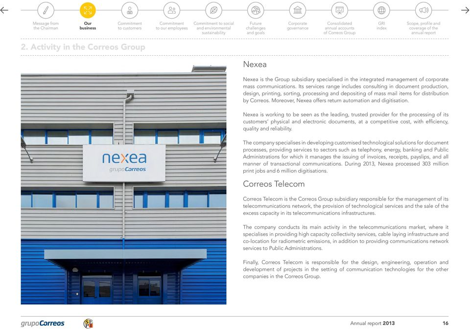 Moreover, Nexea offers return automation and digitisation.