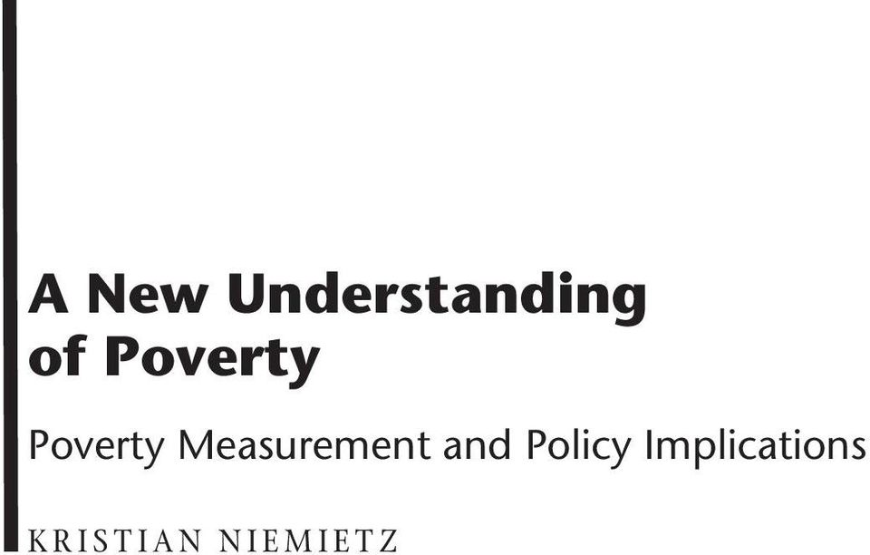 Measurement and Policy
