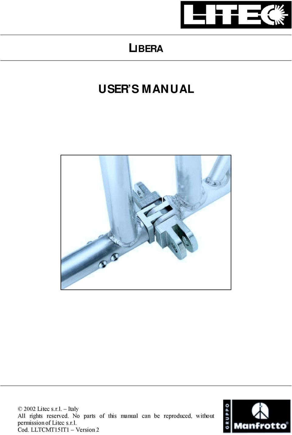 No parts of this manual can be