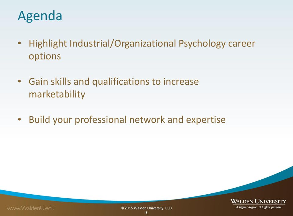 qualifications to increase marketability