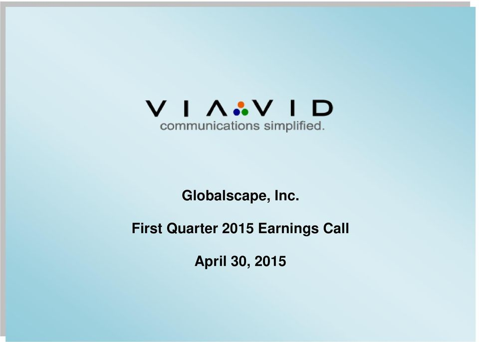 2015 Earnings