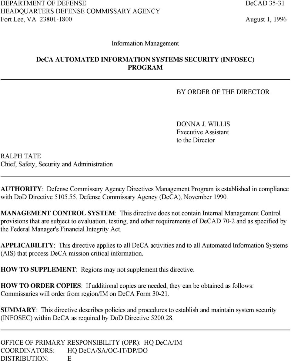 security and related activities control act 1996 pdf
