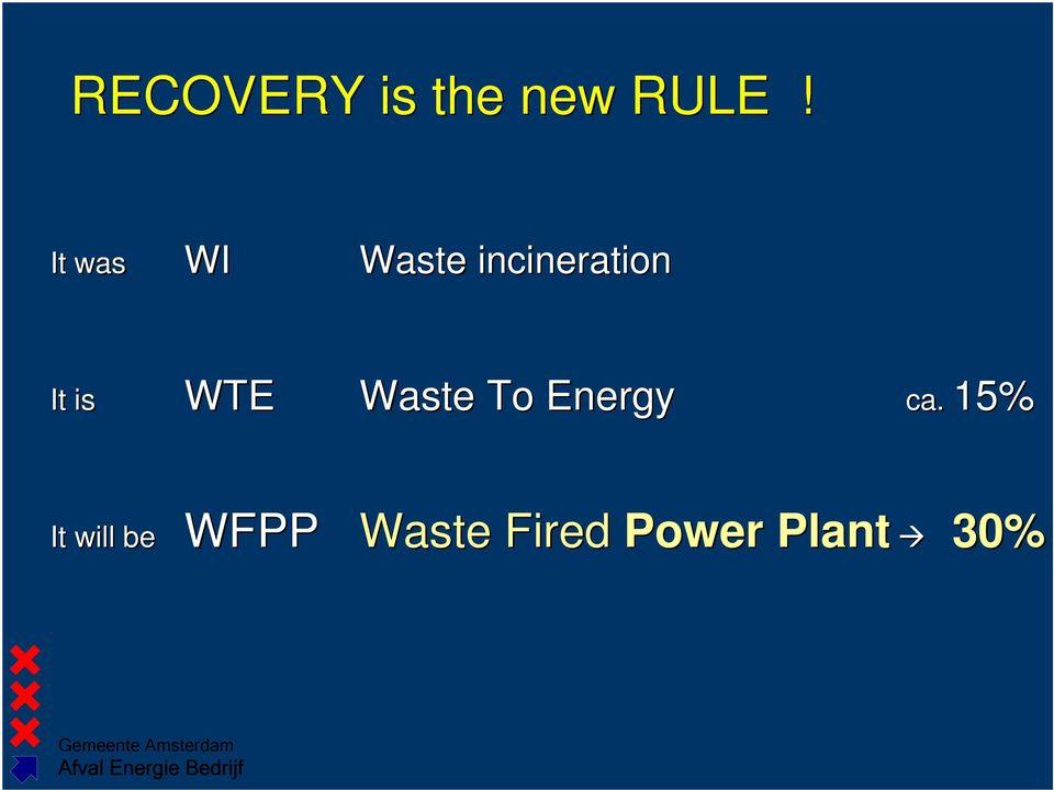 is WTE Waste To Energy ca.