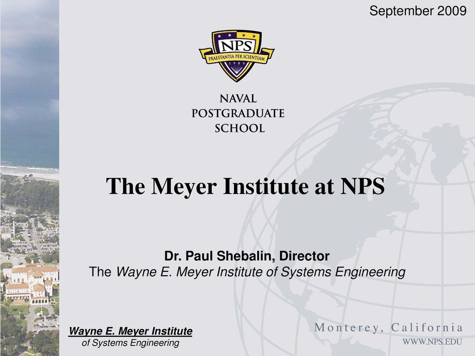 Meyer Institute of Systems Engineering