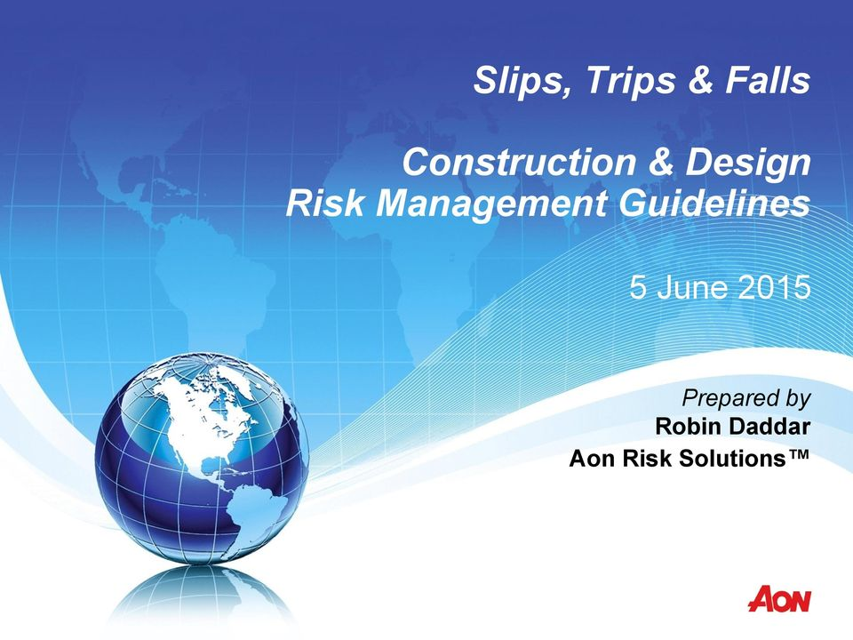 Management Guidelines 5 June