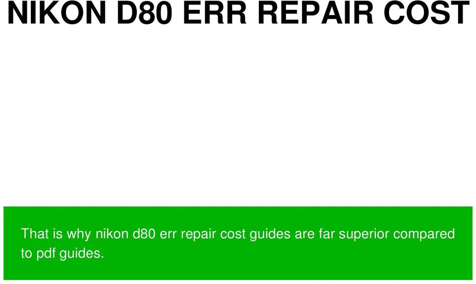 repair cost guides are far
