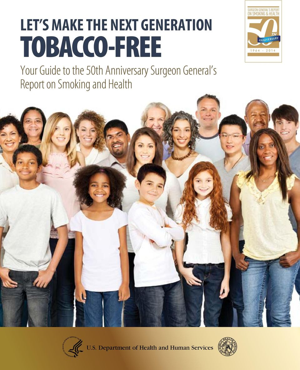 General s Report on Smoking and Health A N