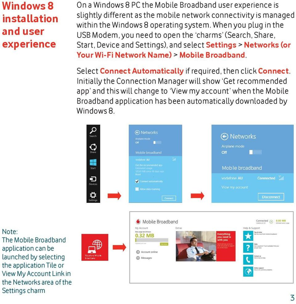 Select Connect Automatically if required, then click Connect.