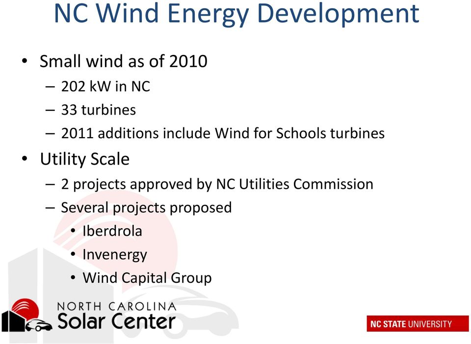 Utility Scale 2 projects approved by NC Utilities Commission
