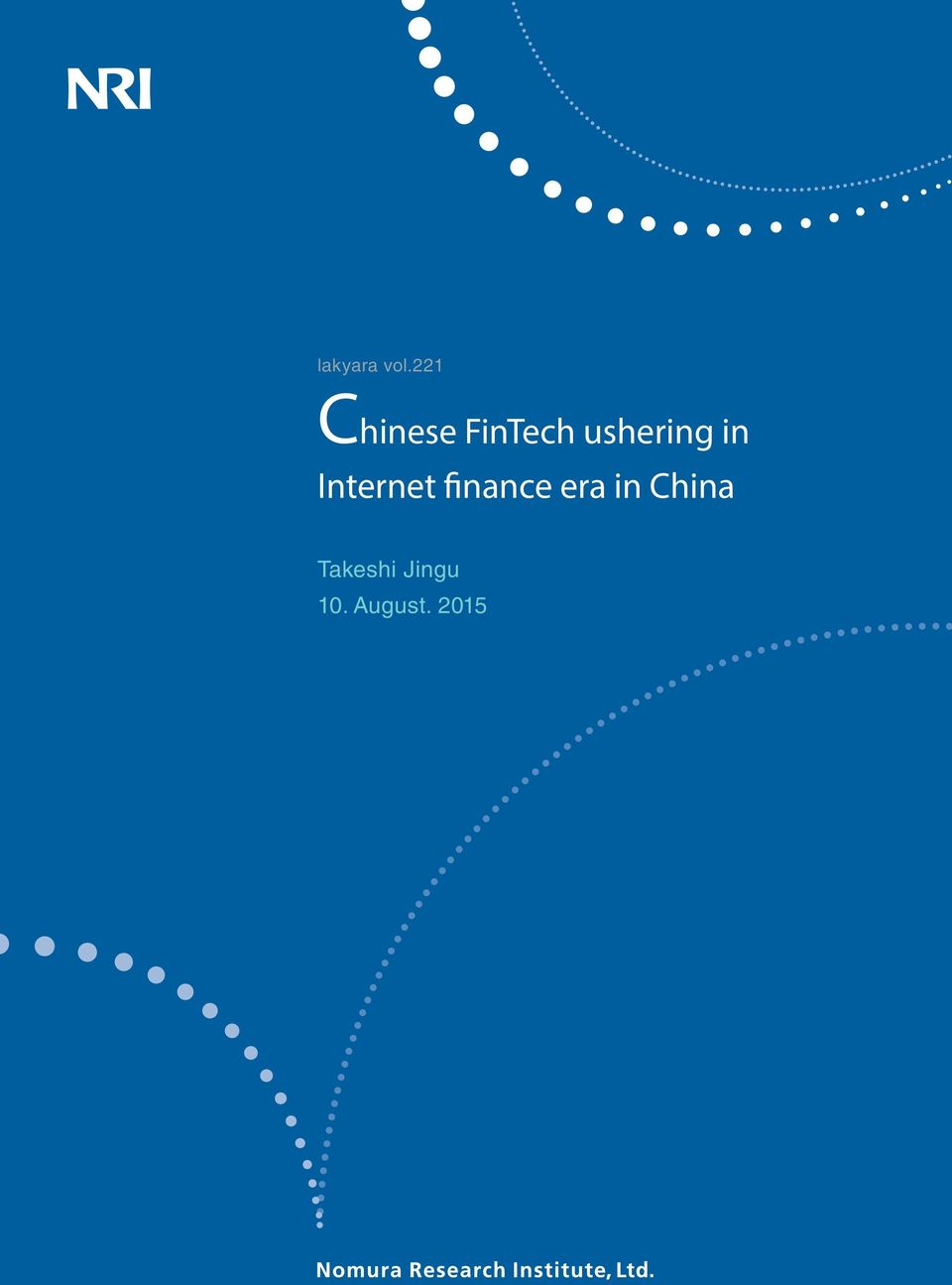 finance era in China