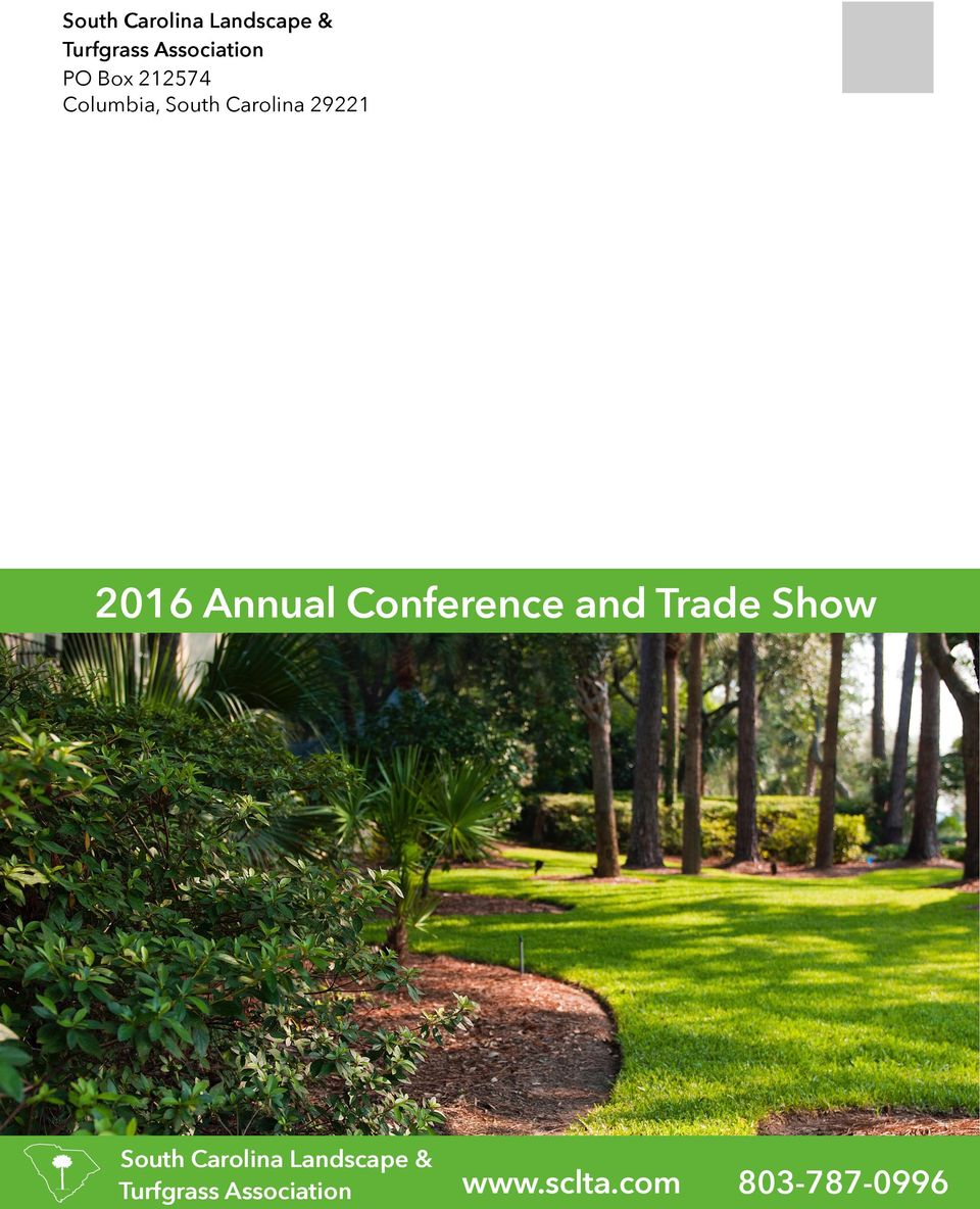 Annual Conference and Trade Show South Carolina