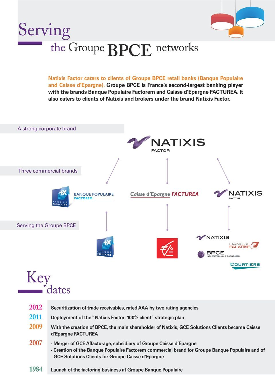 It also caters to clients of Natixis and brokers under the brand Natixis Factor.