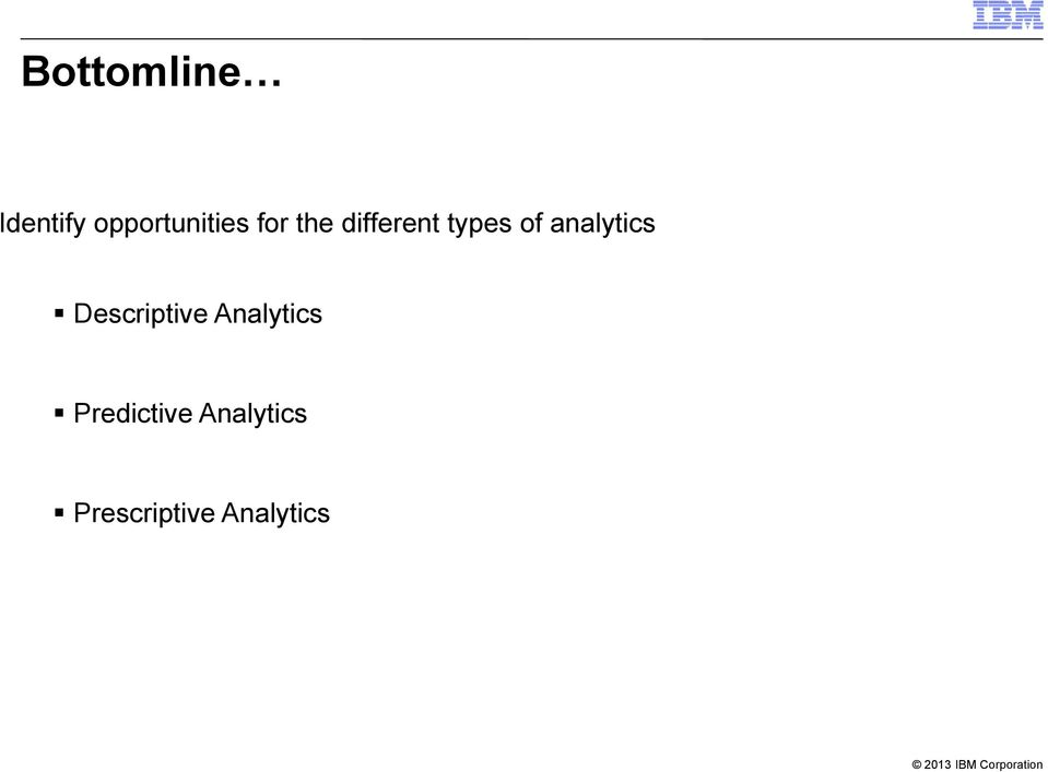 analytics Descriptive e Analytics