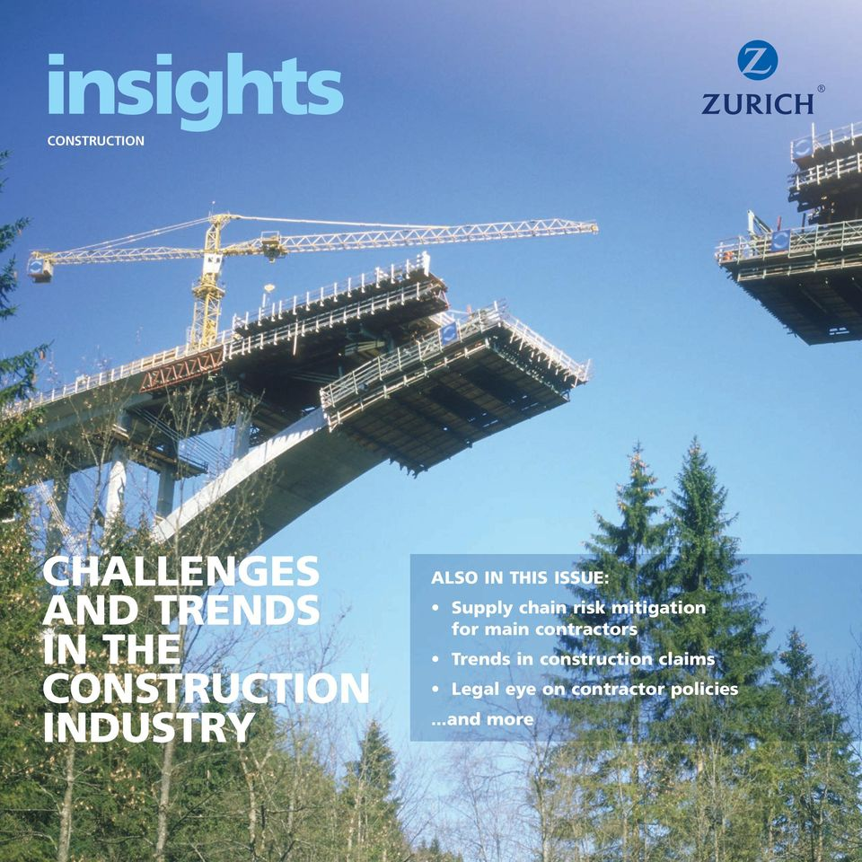chain risk mitigation for main contractors Trends