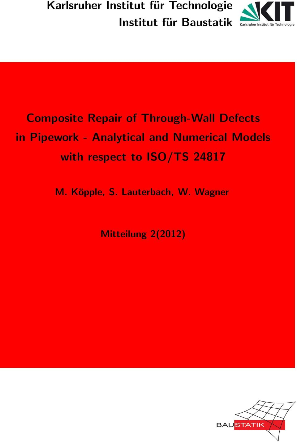 Analytical and Numerical Models with respect to ISO/TS