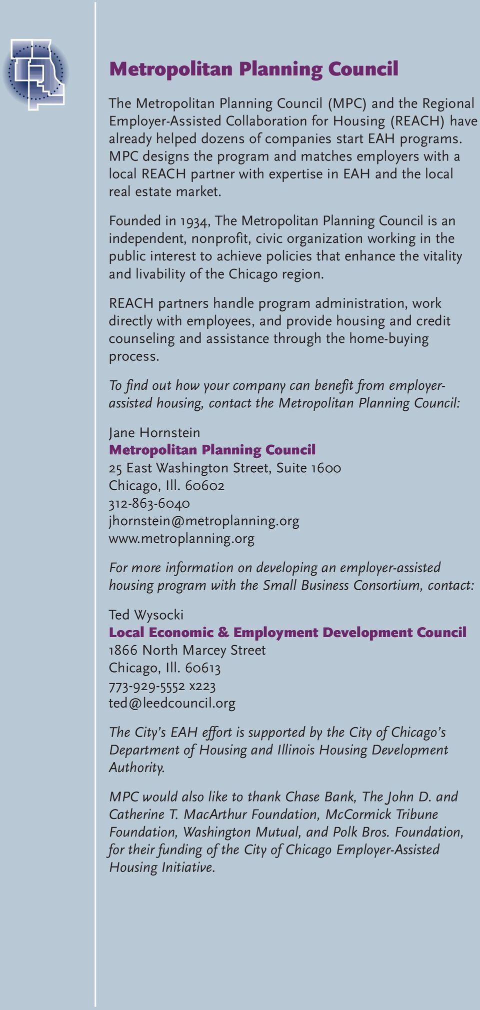 Employer-Assisted Housing in Chicago An Investment That Pays