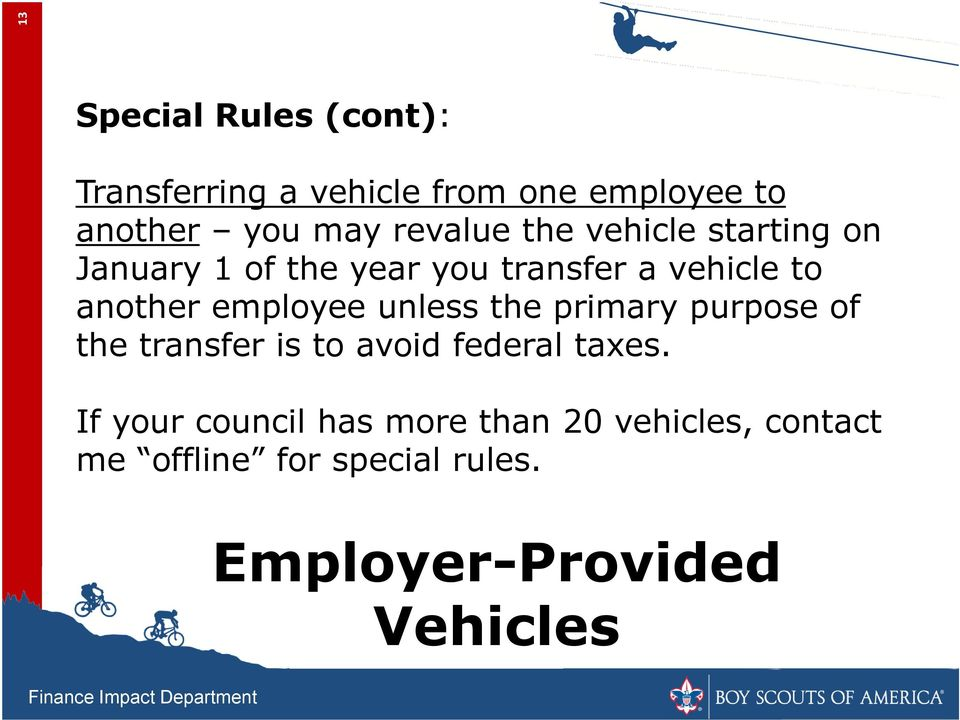 employee unless the primary purpose of the transfer is to avoid federal taxes.