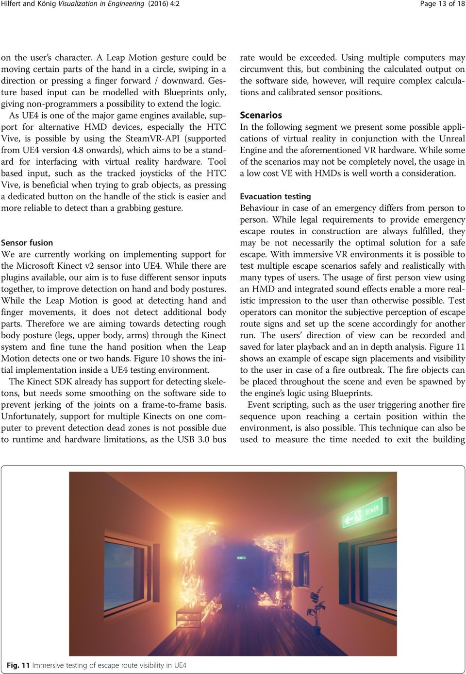 Low-cost virtual reality environment for engineering and