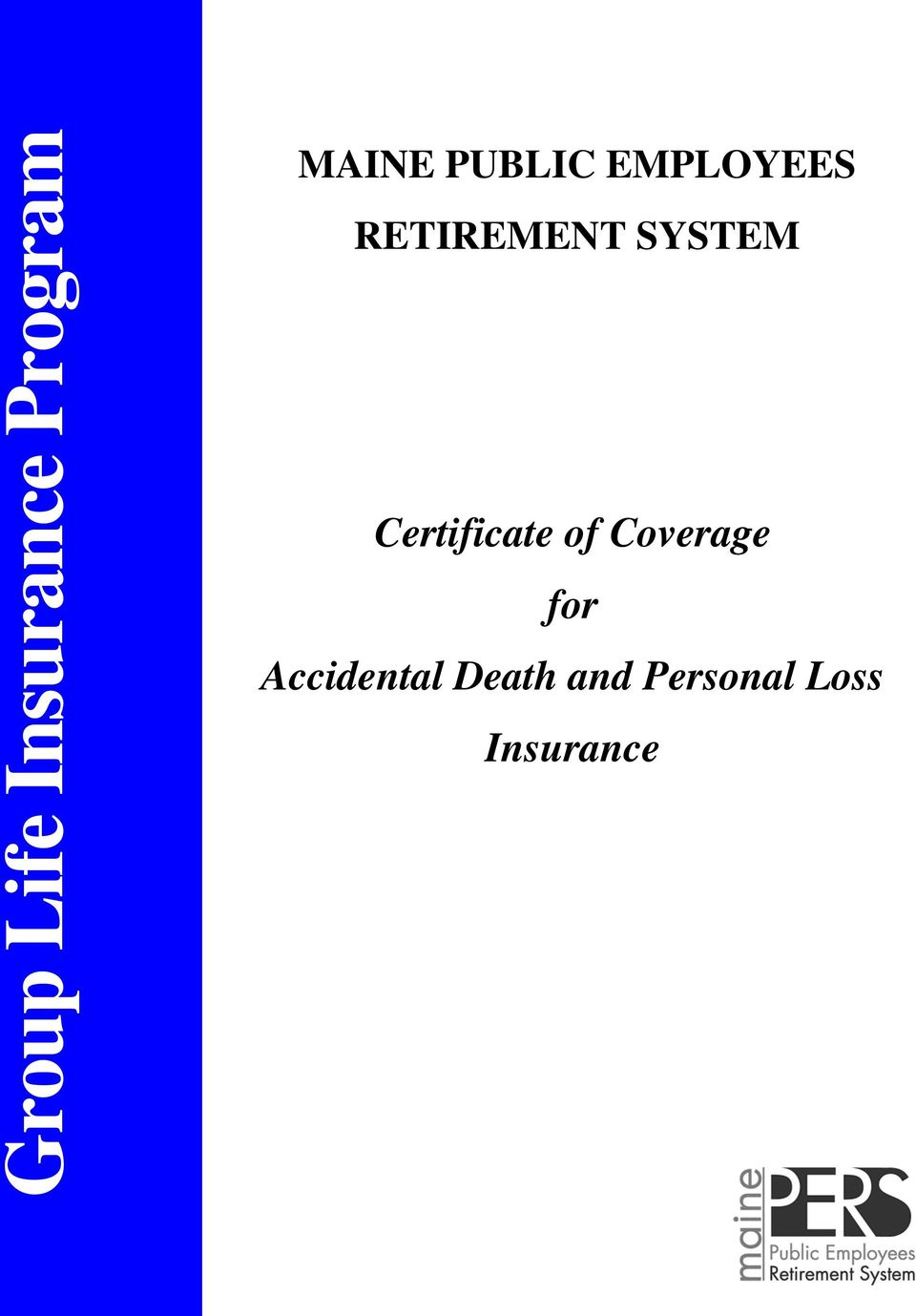 Certificate of Coverage for