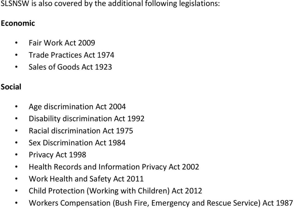 Sex discrimination act 1984 cwlth