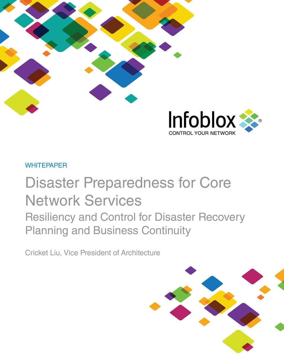 Disaster Recovery Planning and Business
