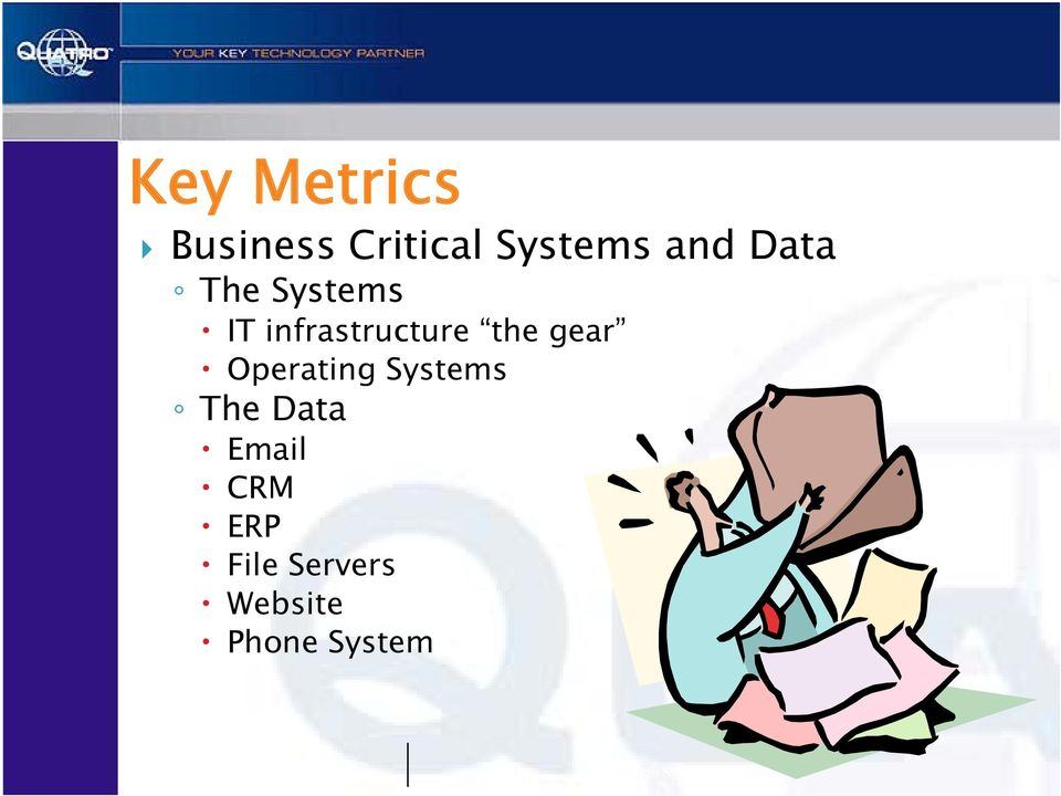 Operating Systems The Data Email CRM ERP File